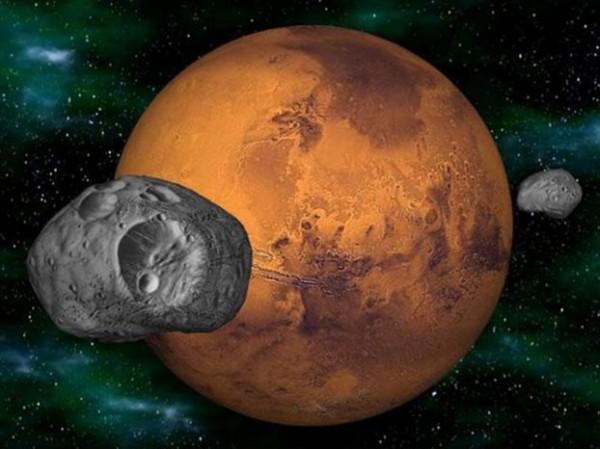 Фобос и Деймос - куски одной луны