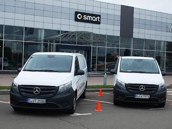 Презентация новинок Mercedes
