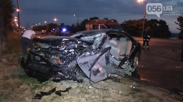 Смертельная авария в Днепропетровске