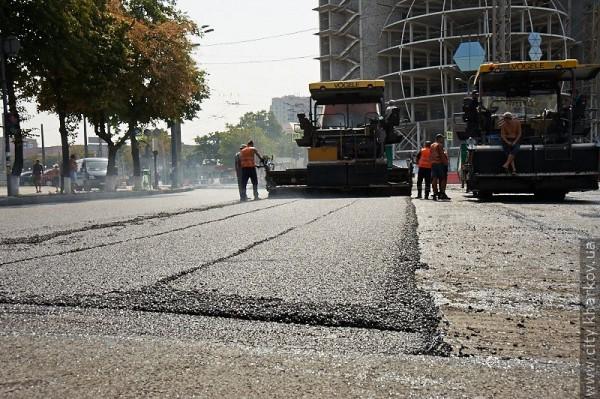 В Харькове обновили проспект Гагарина