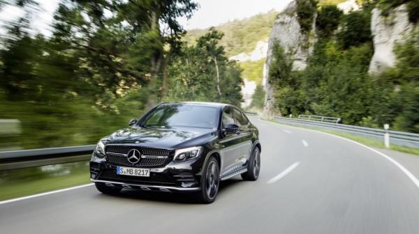Daimler представил «заряженный» кроссовер Mercedes-AMG GLC 43 4MATIC Coupe