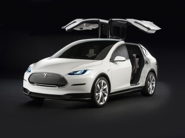 Tesla Model X Prototype с