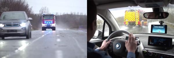 Водитель не обязательно должен быть слабослышащим. Он может задуматься или слишком громко включить музыку и не обратить внимание на приближающийся пожарный автомобиль. В этом случае выручит Sound.AI