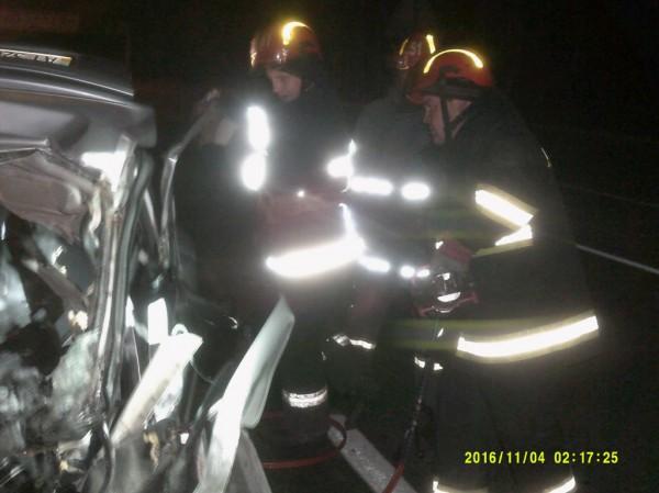 Спасатели деблокировали тело погибшего