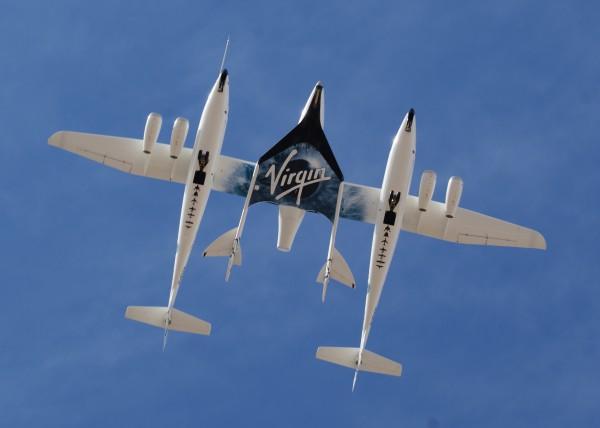 SpaceShipTwo разрешили полеты
