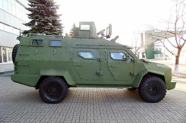 Украинский броневик Барс-8 пойдет в серию