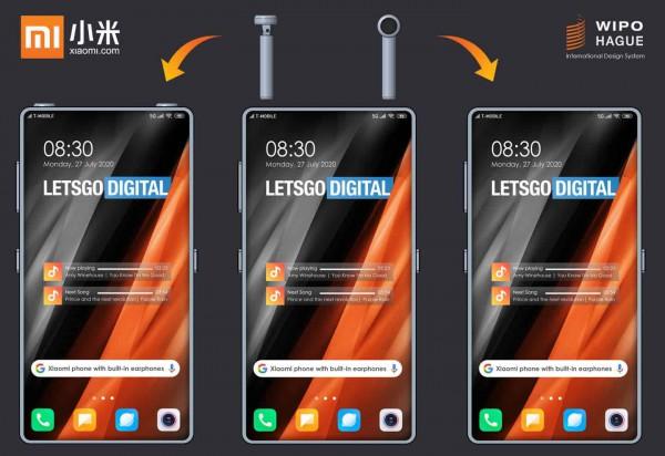 Патент на смартфон с наушниками
