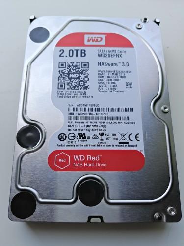 Обзор жесткого диска WD Red