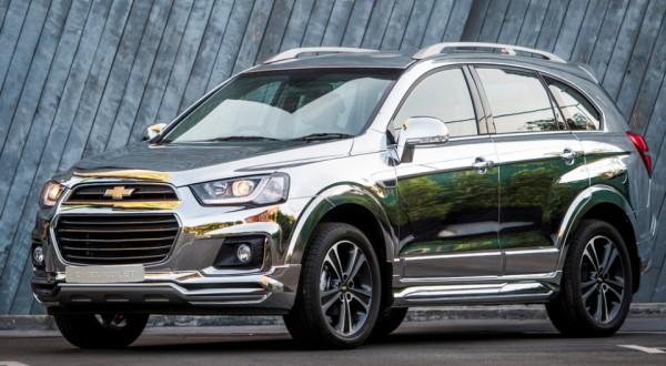 Chevrolet Captiva Chrome Edition Concept