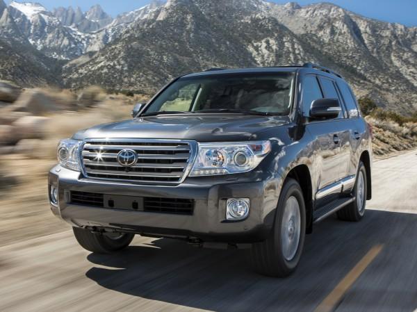 3. Toyota Land Cruiser
