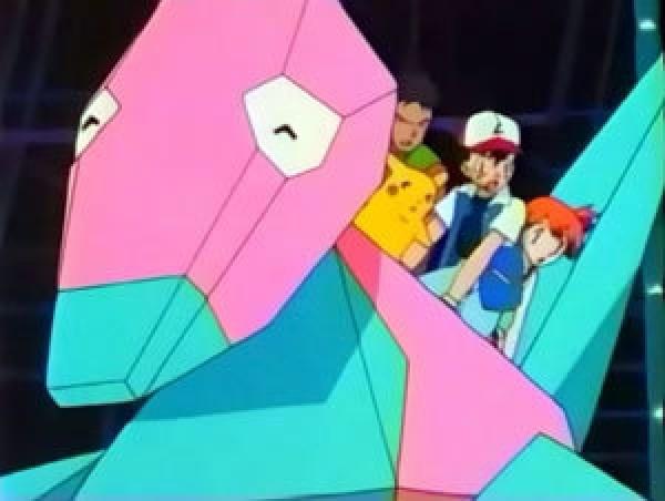 Кадр из серии Покемон