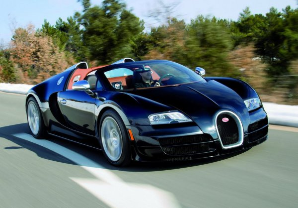 Veyron Super Sport Vitesse – самый мощный открытый Bugatti