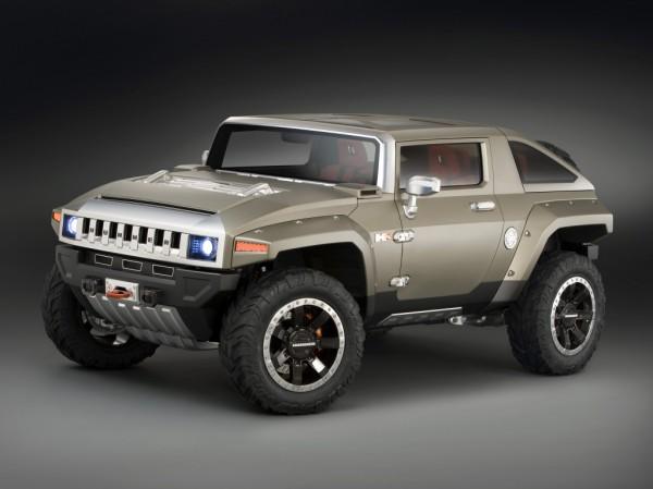 Возможно, новинка будет выглядеть, как Hummer HX Concept