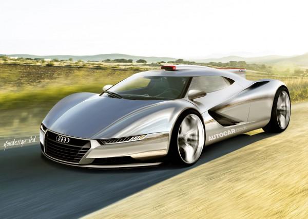Таким может быть Audi R10 – гибридный суперкар