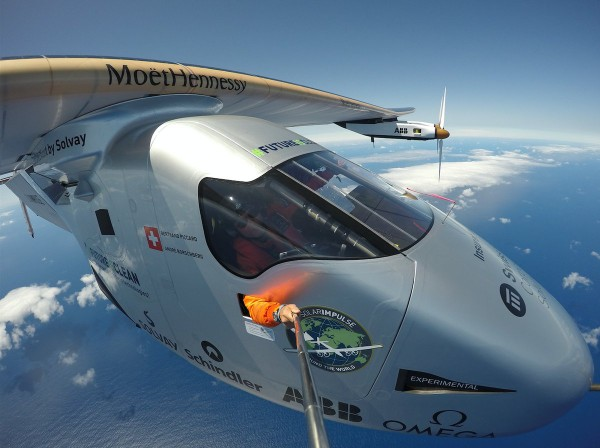 Solar Impulse 2 пересек океан