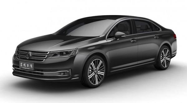 Dongfeng Number 1 собрали из Audi и VW?