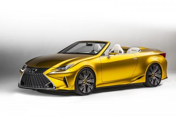Новый концепт кабриолета Lexus
