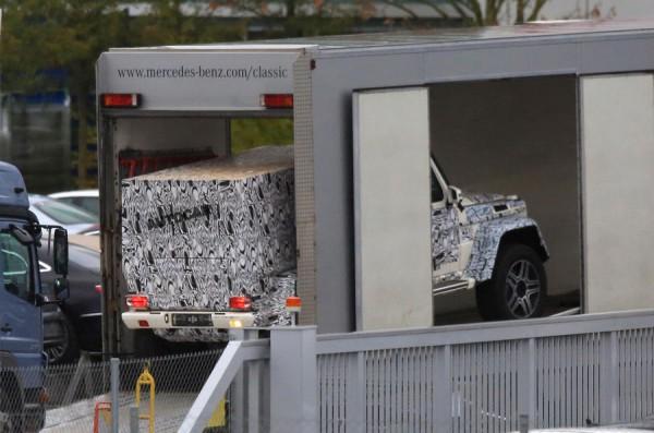 Mercedes-Benz выпустит двухосный пикап 4х4