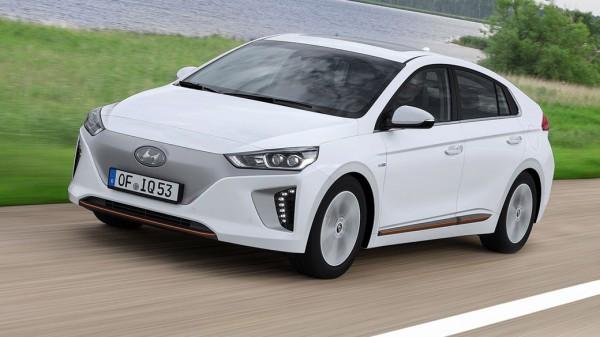 ВУкраинском государстве появился новый электромобиль Хёндай IONIQ