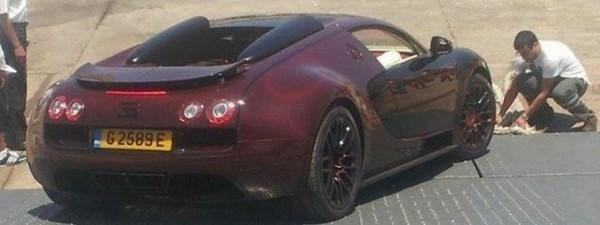 Bugatti в Марокко