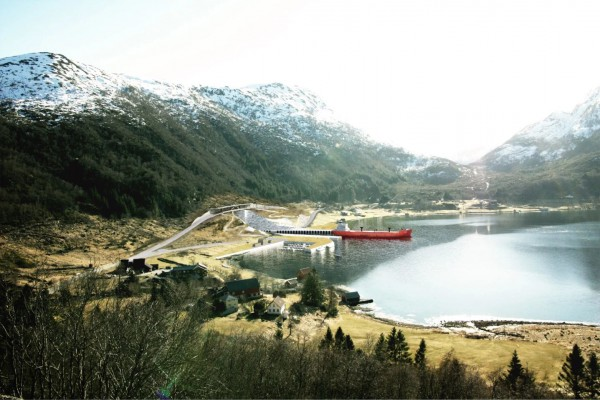 Известная архитектурная фирма Snøhetta занимается проектированием входов в Stad Ship Tunnel
