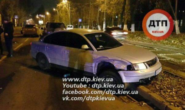 Погоня с перестрелкой в Киеве