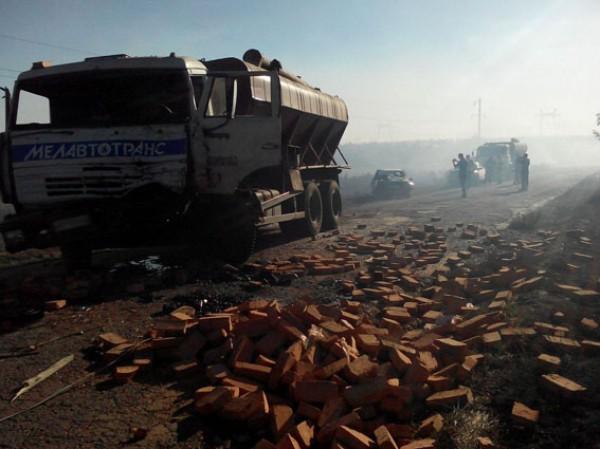 Печальное ДТП вЗапорожской области: столкнулись 4 автомобиля, есть погибший