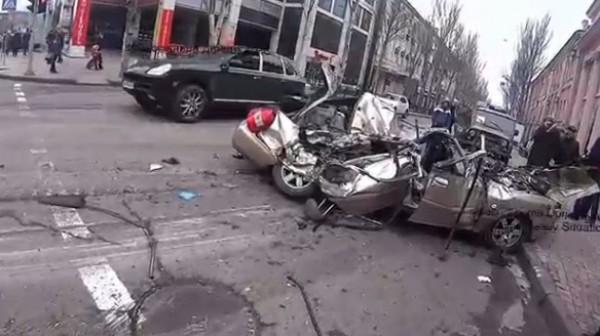 В Донецкой области произошла очередная авария
