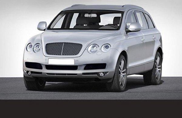 Неофициальная иллюстрация внедорожника Bentley