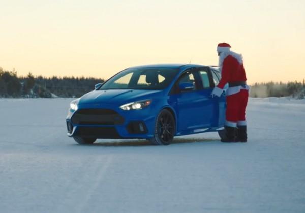 Санта готов к дрифту