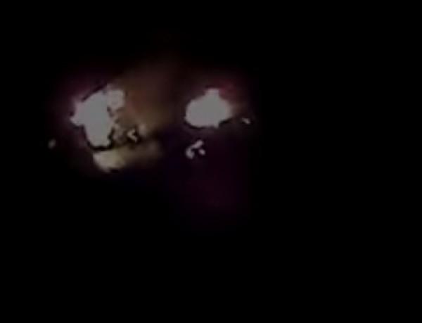 Последствия взрыва грузовика