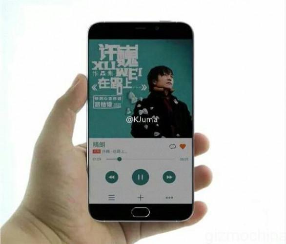 Предполагаемый вид Meizu MX6