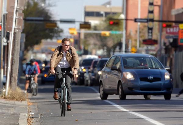 Для велосипедистов пробок не существует