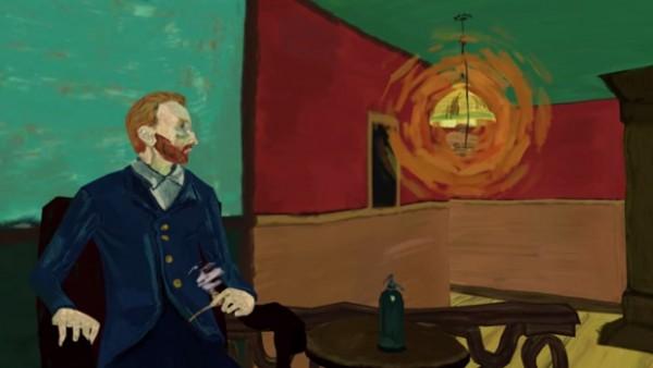 В ролике можно увидеть Ван Гога