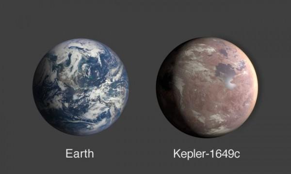 Планета ненамного больше Земли