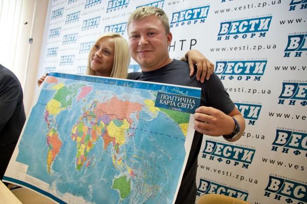 Супружеская пара из Запорожья проехала больше 50 тысяч километров