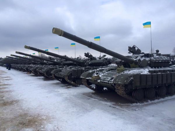 Новые танки для АТО