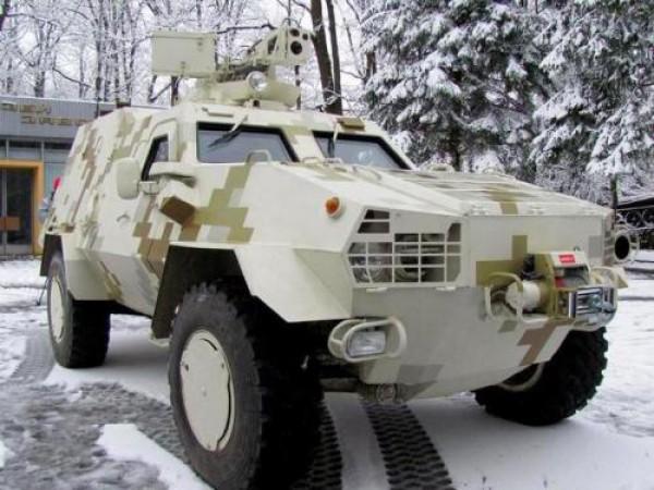 Украинский броневик Дозор