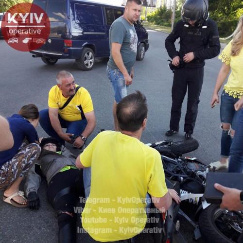 Мото-ДТП под Киевом