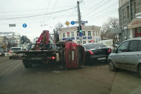 Необычное ДТП в России