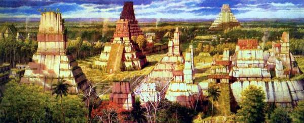 Так мог выглядеть город Себаль во времена расцвета цивилизации майя