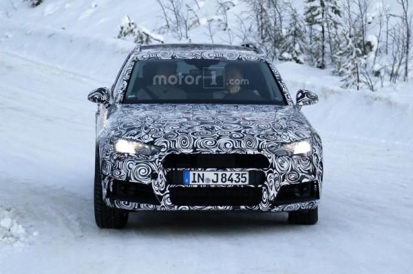 Audi вывела на зимние тесты A4 Allroad