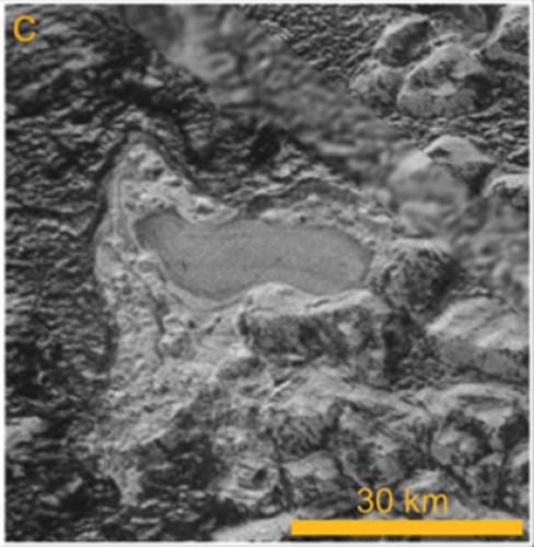 Озеро на Плутоне