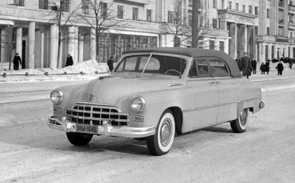 ГАЗ-12А Фаэтон 1949