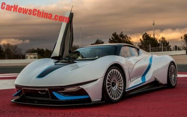 Официальное фото Beijing Auto Electric Supercar