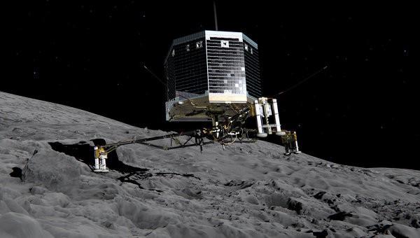 Комета Чурюмова-Герасименко имеет в своем составе кислород