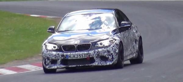 BMW тестирует M2