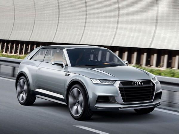 Audi Crosslane Coupe - прототип Audi Q1