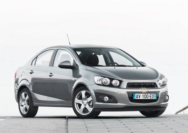 Седан Chevrolet Aveo – от 128 700 грн
