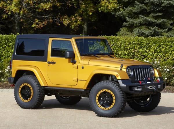 Прототип Jeep Wrangler Copper Crawler